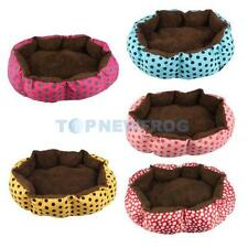 Small Pet Dog Puppy Cat Soft Warm Cozy Nest Bed House Plush Pad Cotton Mat