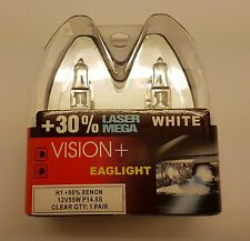 H1 55w SUPER WEIß Halogenlampe +50% Xenon 30% Laser MEGA