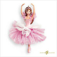 2007 Hallmark BARBIE Ornament FLOWER BALLERINA *Priority Shipping*