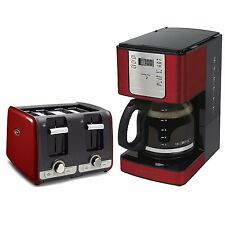Oster 4 Slice Toaster with Extra Wide Slots + Mr. Coffee 12 Cup Coffee Maker