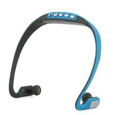 Portable Ear Loop Music MP3 Wireless Headset Headphone Earphone FM/TF Walking