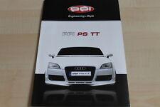 113201) Audi TT Coupe - PPI PS - Prospekt 2008