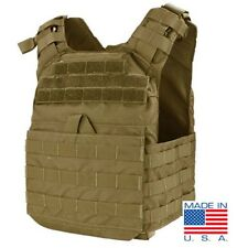 Condor US1020 TAN Cyclone Lightweight Plate Carrier MOLLE Tactical Vest