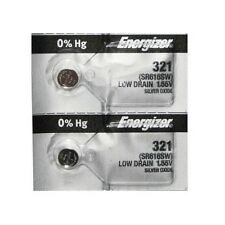 ENERGIZER 321 SR616SW SR616 SILVER OXIDE (2piece) Watch Battery AuthorizedSeller