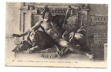 lyon   le rhône  d'après les frères coustou  ,sculpteurs lyonnais