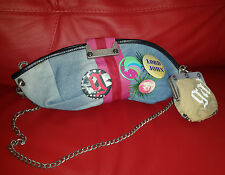 John Galliano bag clutch for Dior rare icon collection model  purse and badges
