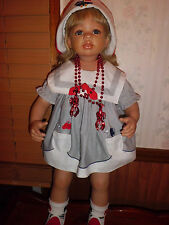 "Monika Levenig 25"" porcelain doll Masterpiece Gallery free shipping"