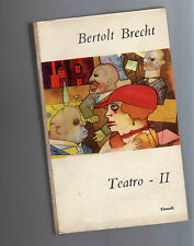bertolt brecht - teatro - volume II° - box1 -