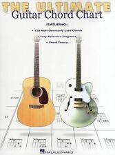 Ultimate Guitar Chord Chart Guide Learn to Play Rock Pop Guitarist Music Book