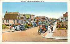 Auto's and Houses along Webster Ave ~SEASIDE HEIGHTS NJ~ Great Old View