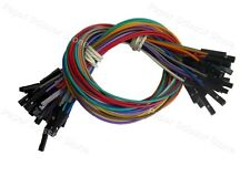 50X 30cm 1P Female (F-F) Arduino Jumper Cable Cables Wire Wires Sensor Shields