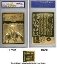 RARE Gem-Mint 10 WILT CHAMBERLAIN Fleer ROOKIE Card