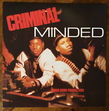 "Boogie Down Productions ""Criminal Minded"" 2016 B Boy Records LP Reissue SEALED!!"