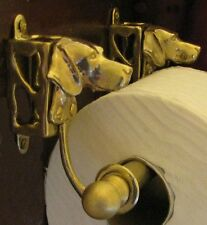 WEIMARANER Bronze Toilet Paper Holder OR Paper Towel Holder!