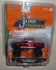 JADA JUST TRUCKS ☆ '11 FORD F150 SVT RAPTOR ☆ BLISTER PACK ☆ RED
