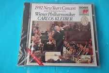 1992 NEW YEAR'S CONCERT CARLOS KLEIBER CD SONY CLASSICAL  NEW SEALED