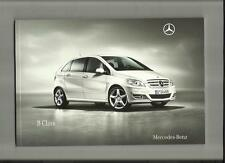MERCEDES BENZ B CLASS B160,B180,B180CDI,B200CDI+BLUE EFFICIENCY BROCHURE 2009/10