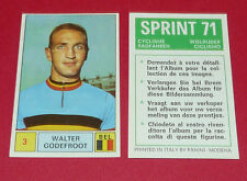 N°3 WALTER GODEFROOT BELGIË PANINI SPRINT 71 CYCLISME 1971 WIELRIJDER CICLISMO