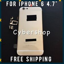 "GOLD Back  Cover Housing Frame Replacement Assembly for iphone 6 4.7"" + Tools"