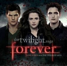 TWILIGHT'FOREVER' LOVE SONGS FROM THE TWILIGHT SAG 2 CD NEW+