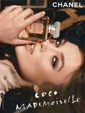 Publicité Advertising 2014  Parfum CHANEL coco Mademoiselle
