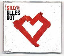 Silly Maxi-CD Alles Rot - 5-track CD incl. Video - ostrock anna loos