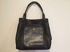 Vince Camuto MARON  Tote Shoulde Bag Black Pebbled Leather*Damaged*