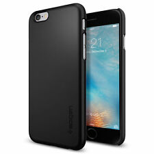 Spigen® Thin Fit Case [Black] Slim Thin Protective Hard Cover for iPhone 6s / 6