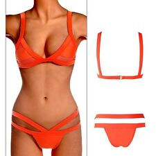 Women's Brazilian Bandage Push-up Bikini Set Swimsuit Bikini Swimwear Bathing