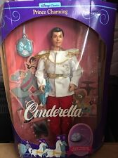 Disney Cinderella Prince Charming Barbie 1991, Mint In Box - 01625