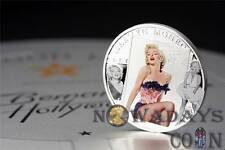 Cook Islands 2011 $5 MARILYN MONROE Silver Proof Coin with real Dimond