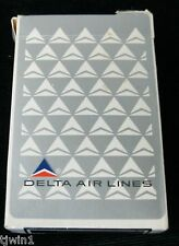 DELTA AIR LINES PLAYING CARDS 100% COMPLETE WITH CRISP CARDS WIDGET LOGO