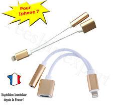 2 en 1 Diviseur pour 3.5mm écouteur Jack Adaptateur Câble pour iPhone 7 new
