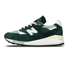 DS NIB MENS NEW BALANCE 998 CSAM MADE USA SEAGREEN COSMETIC SECONDS 7.5 NOBOXLID