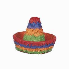 Pinata petit Sombrero pignata mexique  anniversaire fetes d'enfant gouter jeux