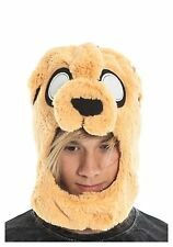 NEW Adventure Time Jake Ember Plush Character Laplander Beanie Cap Hat