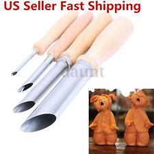 4Pcs Wood Carving Hand Chisel Tool Set Woodworking Professional Gouges New US