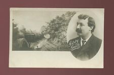 Religion Salvation Army Evangelism GIPSY SMITH caravan bi-view pre1919 RP PPC