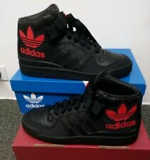Adidas Originals Forum MID RS XL Strap Black RayRed Men Shoes Sneakers S75968