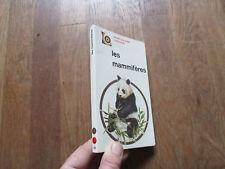 M BOORER LES MAMMIFERES  poche larousse couleurs + illustrations 1971