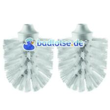 WC-Ersatz-Bürstenkopf Ersatzbürstenkopf Bürste weiß 2 stk passend zu SMEDBO H233