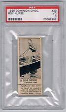 1925 Dominion Choc. Sports Card #20 Roy Nurse (Paddling) Graded PSA 3
