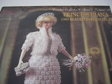 Paradise Publications; Princess Diana; Crochet Collector Costume; Volume 49