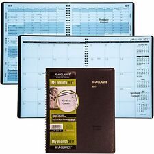 """2017 At-A-Glance 70-260 Administrator Monthly Planner, 8-7/8 x 11"""""""