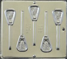 Lacrosse Stick Lollipop Chocolate Candy Mold 3445 NEW