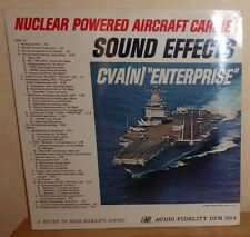 Nuclear Powered Aircraft Carrier Sound Effects: CVA(N) Enterprise LP Record
