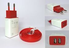 Original Dual USB 2 Amps Travel Adapter Charger Type C Cable For OnePlus 2