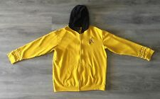 STAR TREK CAPTAIN KIRK THINK GEEK EMBROIDERED ZIP UP MENS 2XL HOODIE SWEATSHIRT