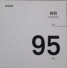 Sigma 95mm WR UV Filter Objektiv Neu GB Lager