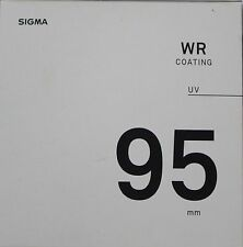 Sigma 95mm WR UV Lens Filter New UK Stock